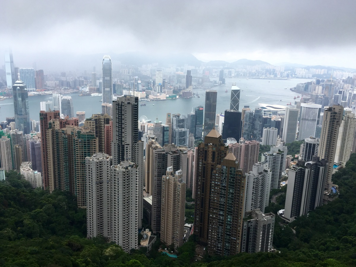 Shoppen, eten en hiken in Hong Kong