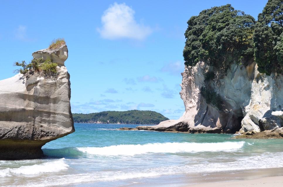 Stranden, baaien en steden in het noorden van hetNoordereiland